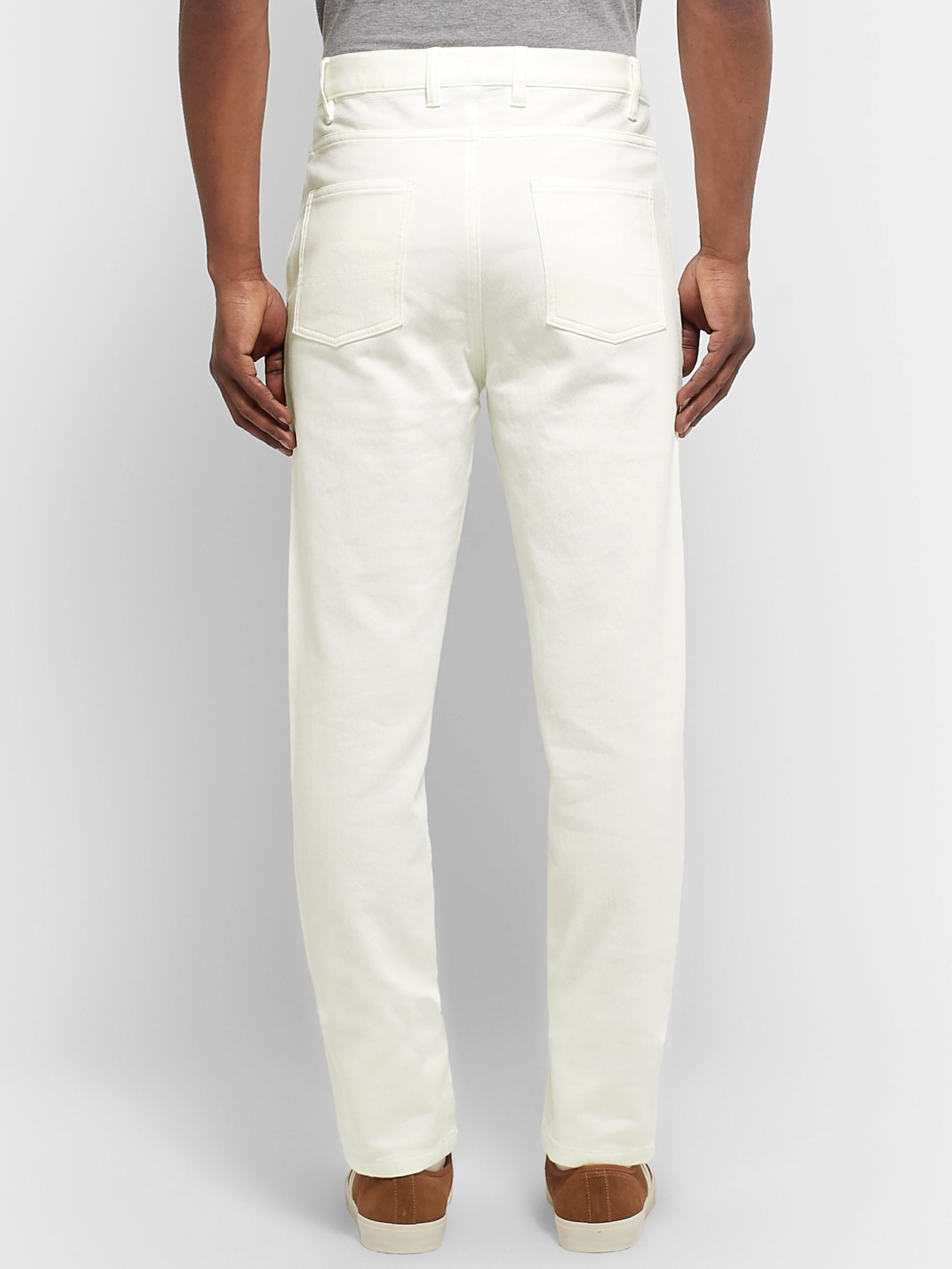 A.P.C. Ribbed Stretch-Cotton Jeans
