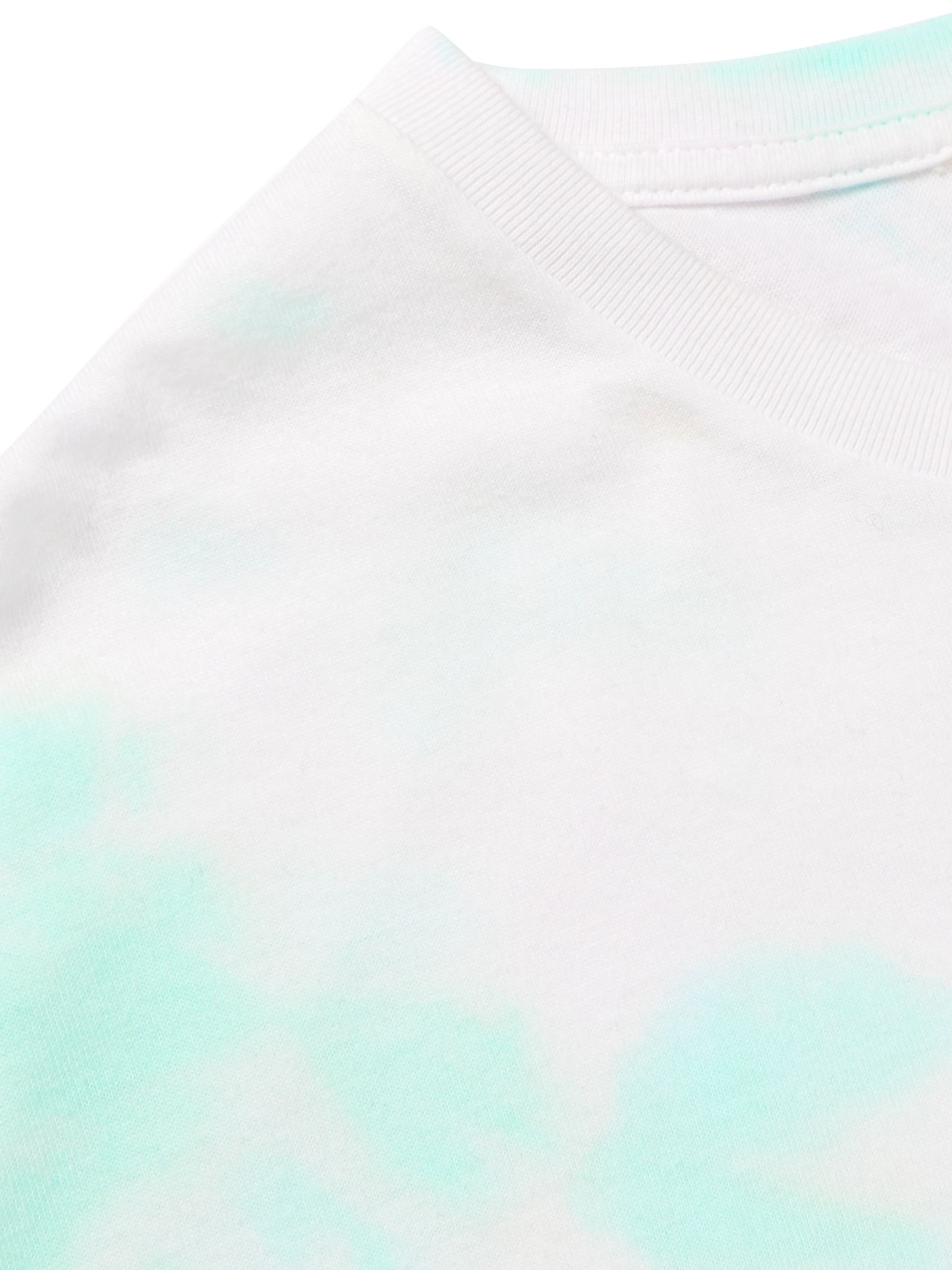 Auralee Tie-Dyed Cotton-Jersey T-Shirt