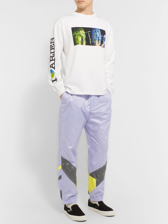 Flagstuff Logo-Embroidered Tech-Shell Track Pants