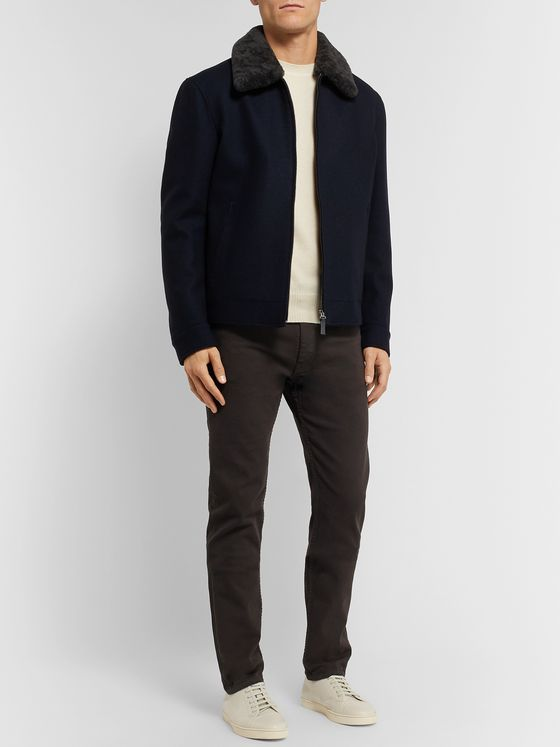 Brioni Slim-Fit Cashmere Sweater