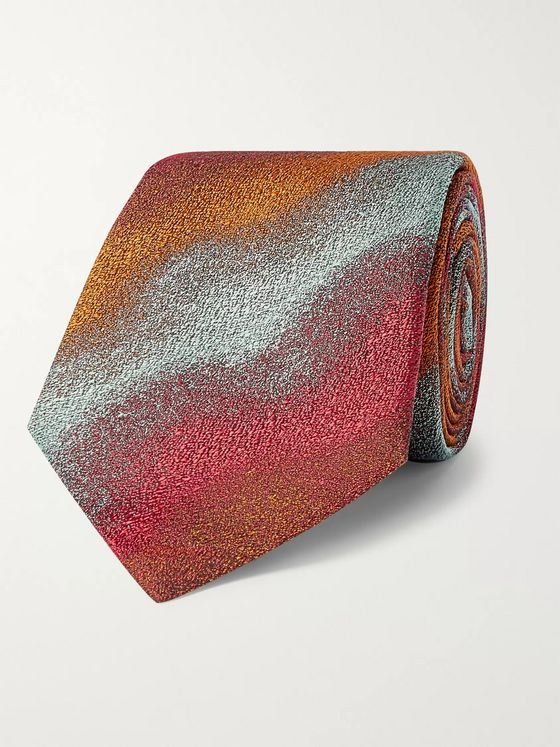 Kingsman + Turnbull & Asser Rocketman 8cm Silk Tie