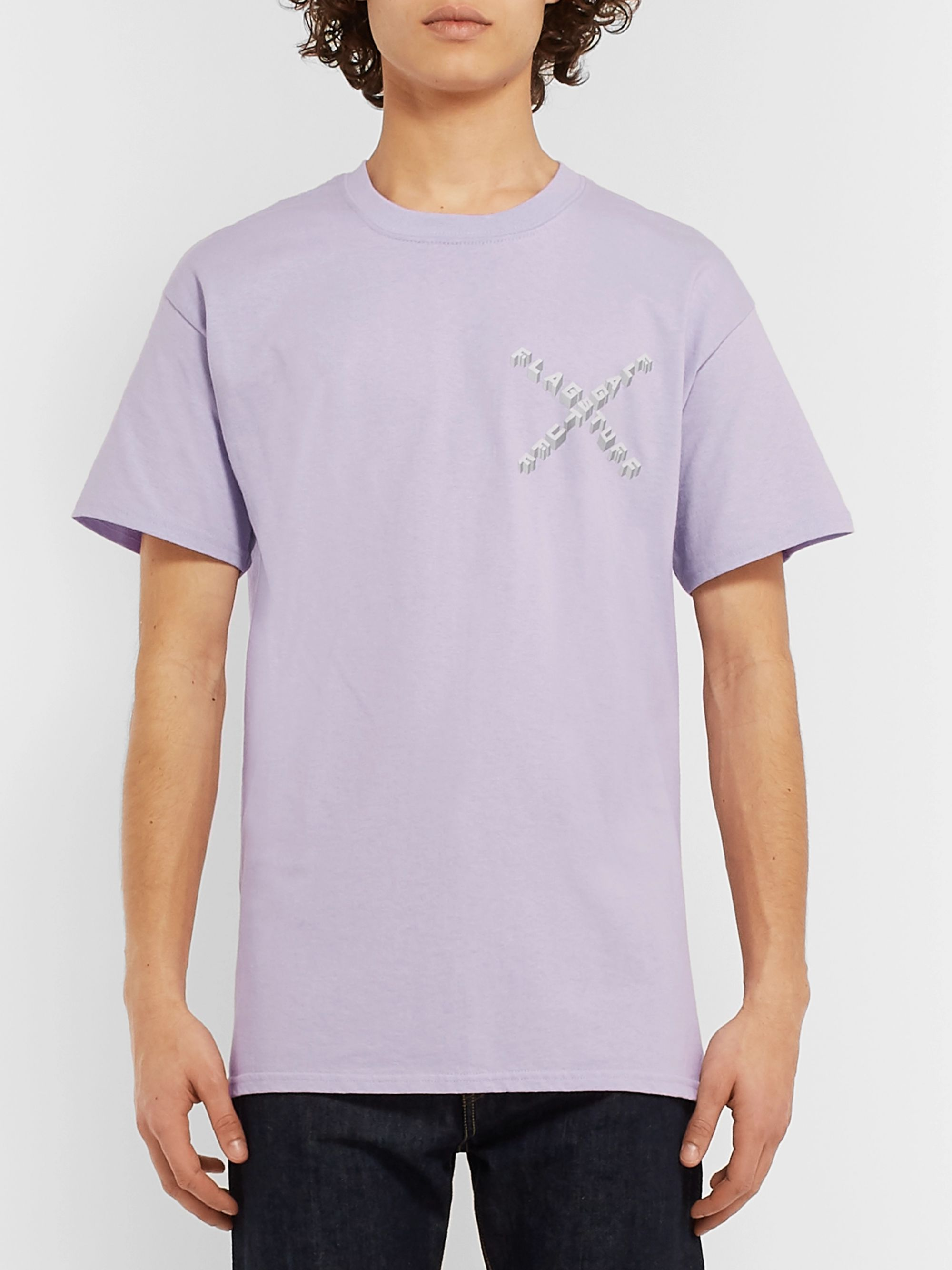 Flagstuff Logo-Print Cotton-Jersey T-Shirt