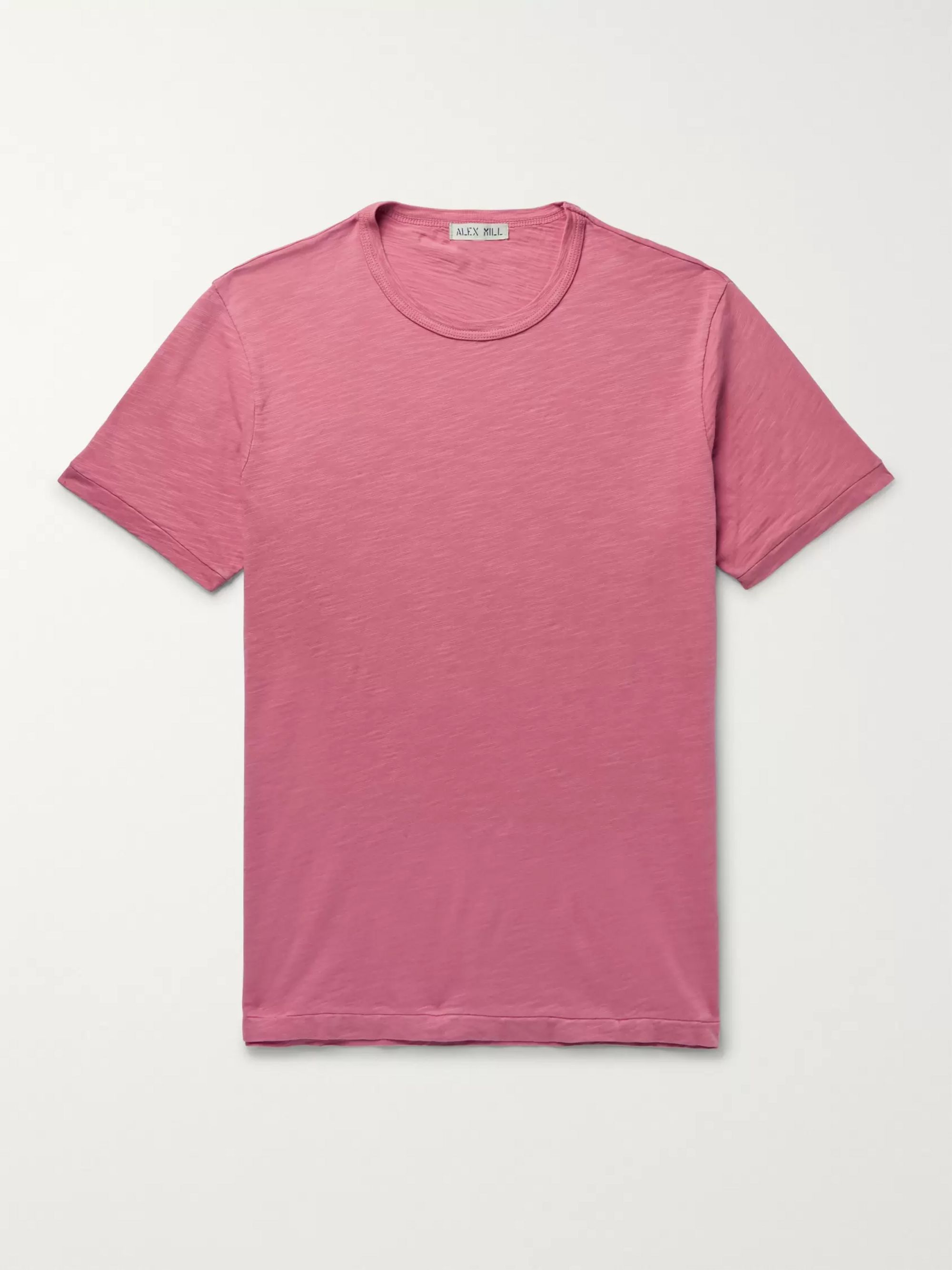 Alex Mill Slim-Fit Slub Cotton-Jersey T-Shirt