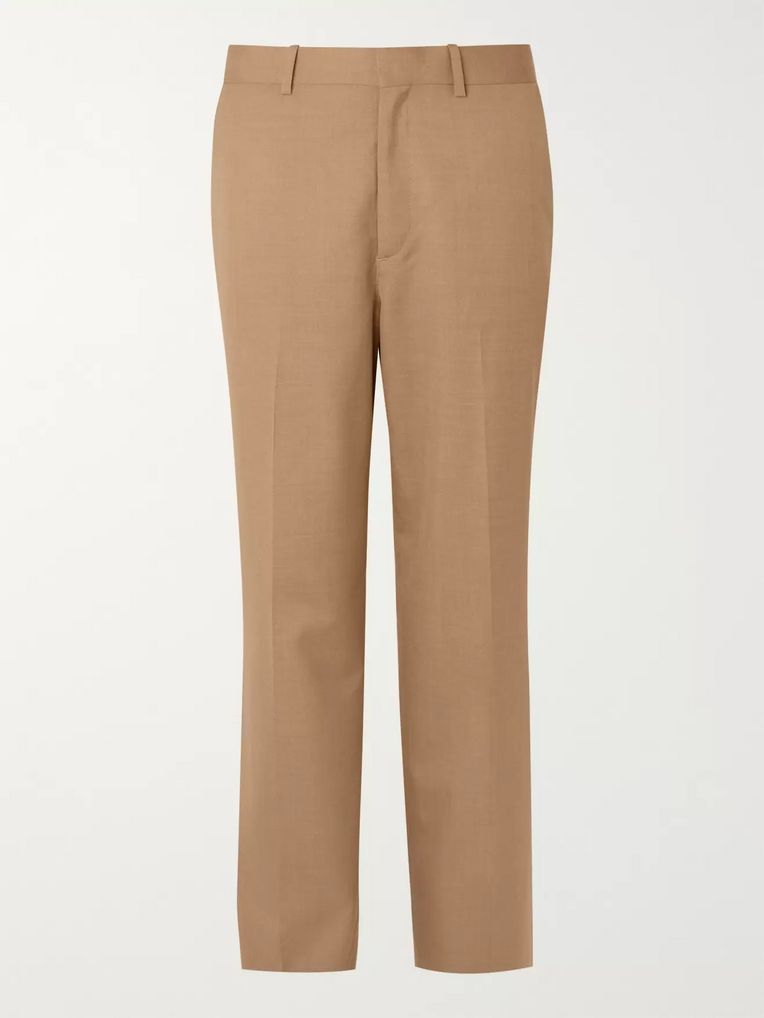 Auralee Wool and Silk-Blend Trousers