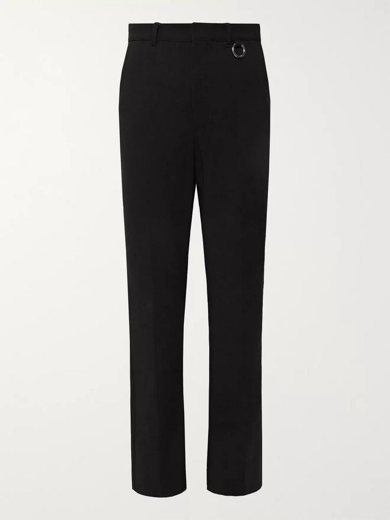 AMBUSH® Black Stretch-Wool Trousers