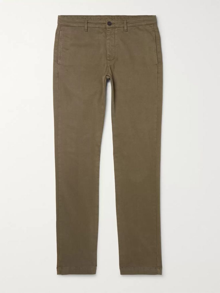 Massimo Alba Cotton-Blend Trousers