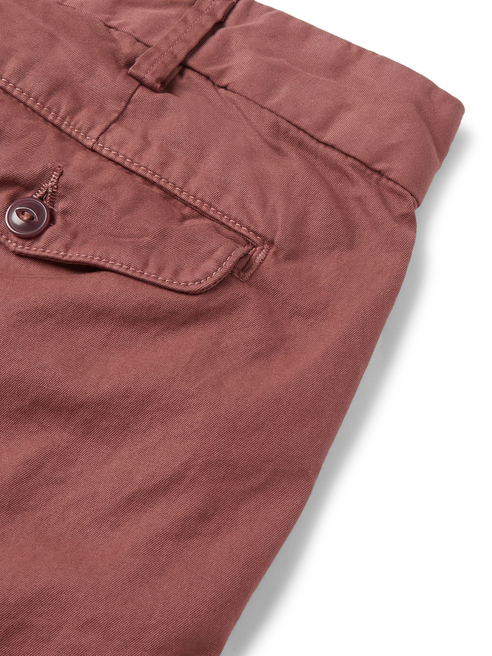 Save Khaki United Cotton-Twill Bermuda Shorts