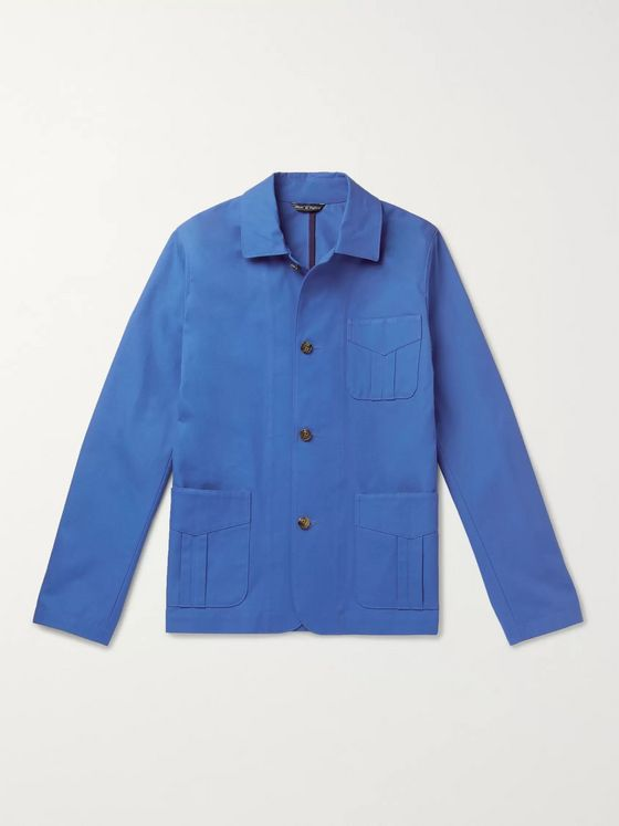 Richard James Cotton-Twill Chore Jacket