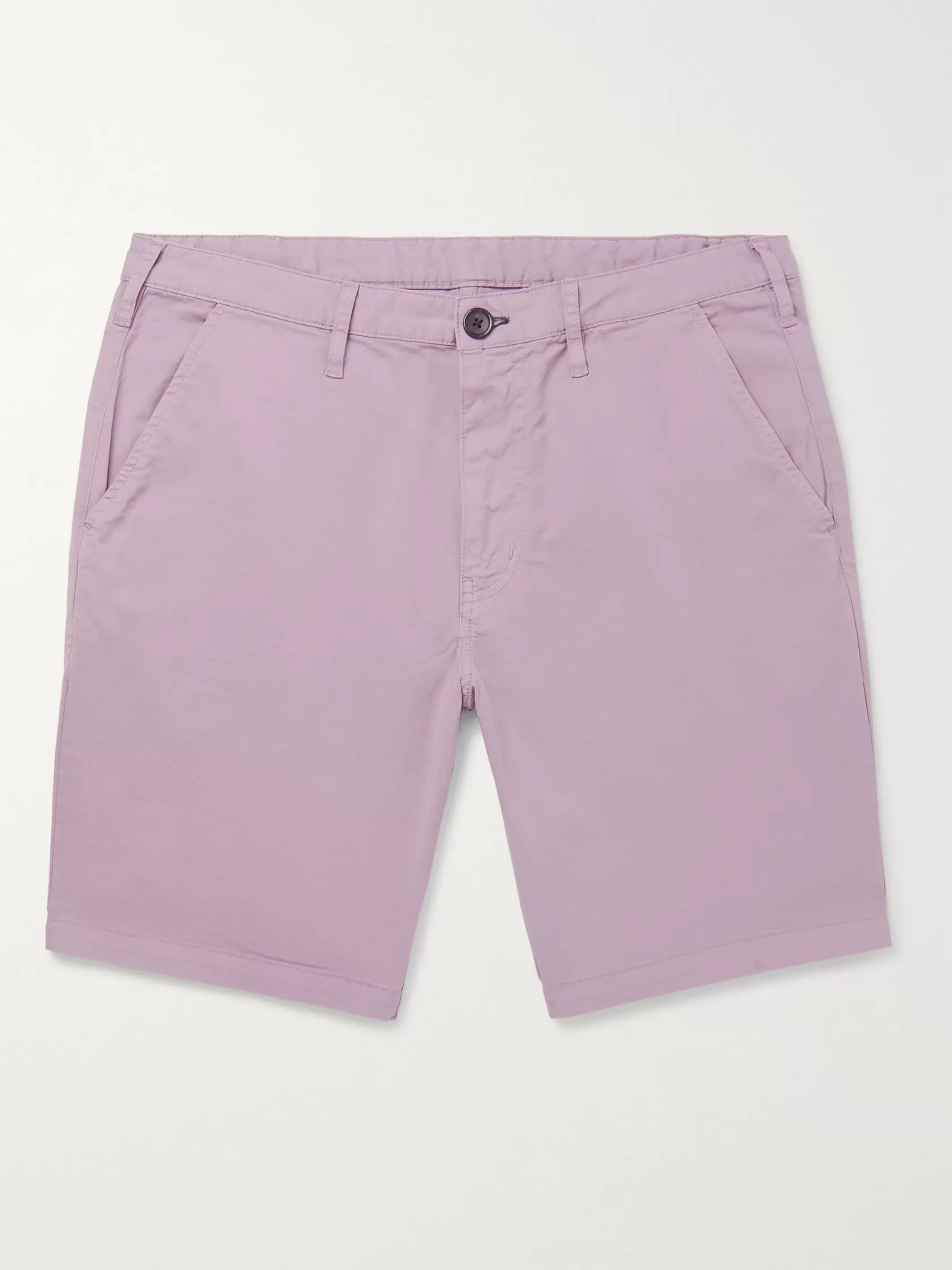 PS Paul Smith Slim-Fit Cotton-Blend Twill Shorts