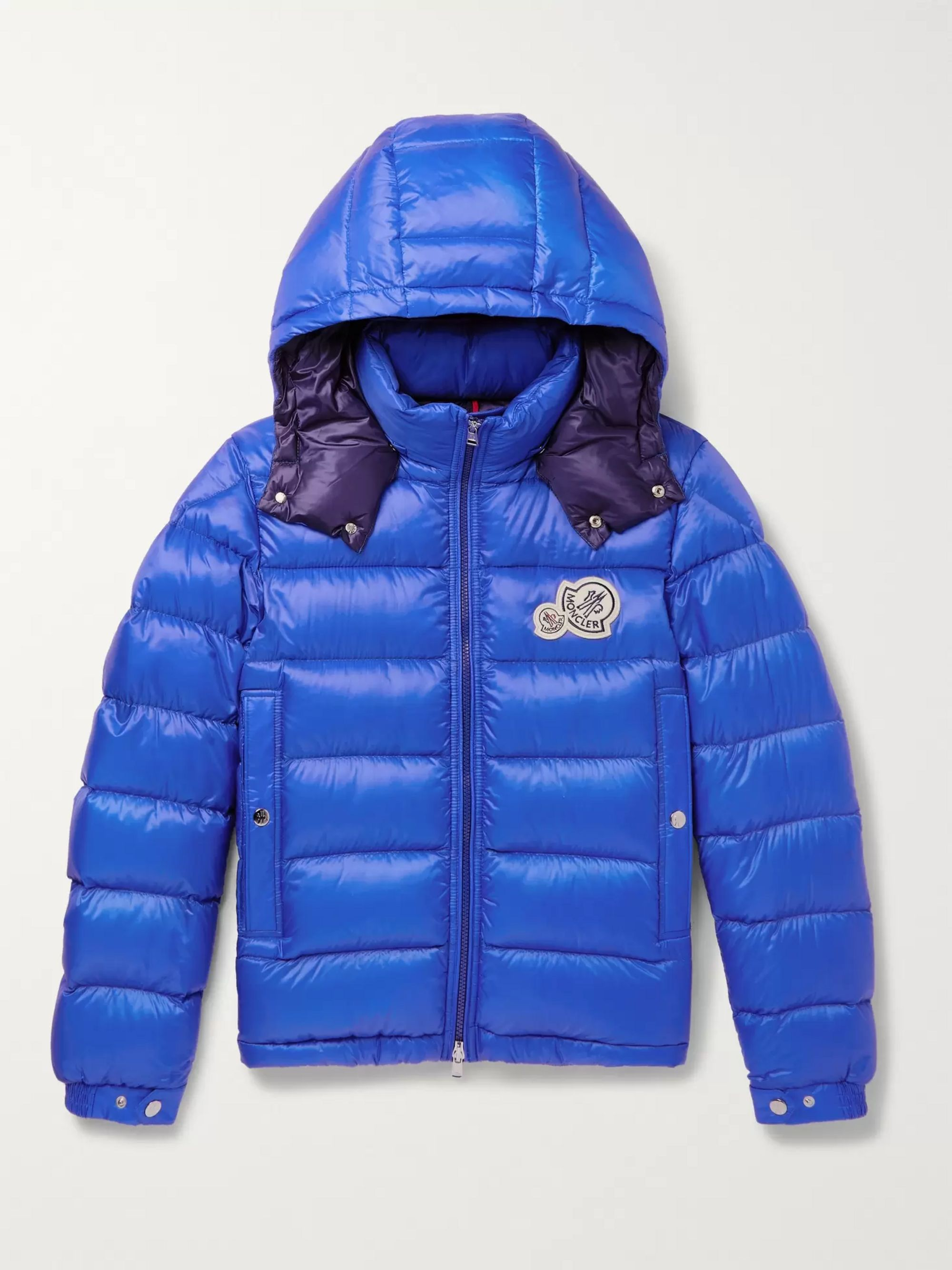 Bramant Quilted Shell Hooded Down Jacket by Moncler