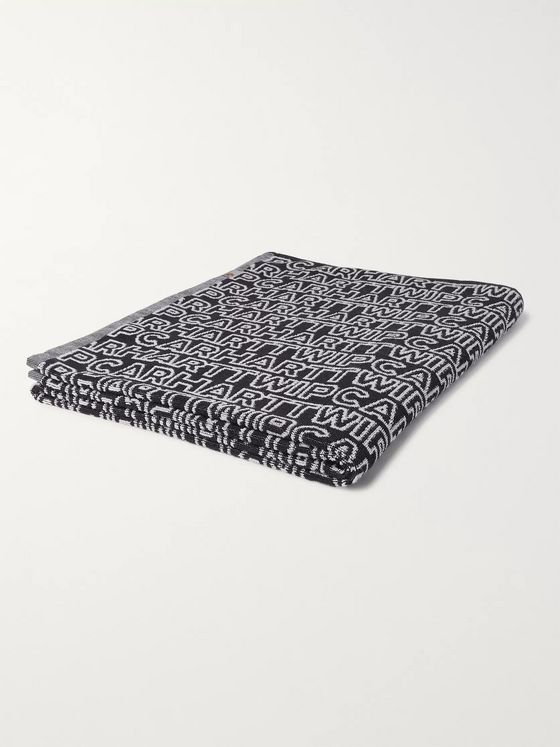 Carhartt WIP Logo-Jacquard Cotton-Terry Towel