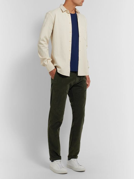 Barena Rampin Cotton-Blend Corduroy Trousers
