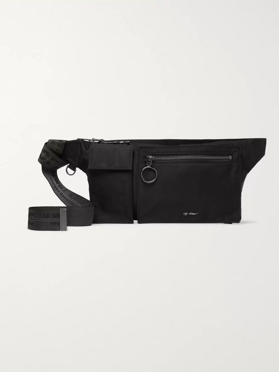 Off-White Shell Belt Bag