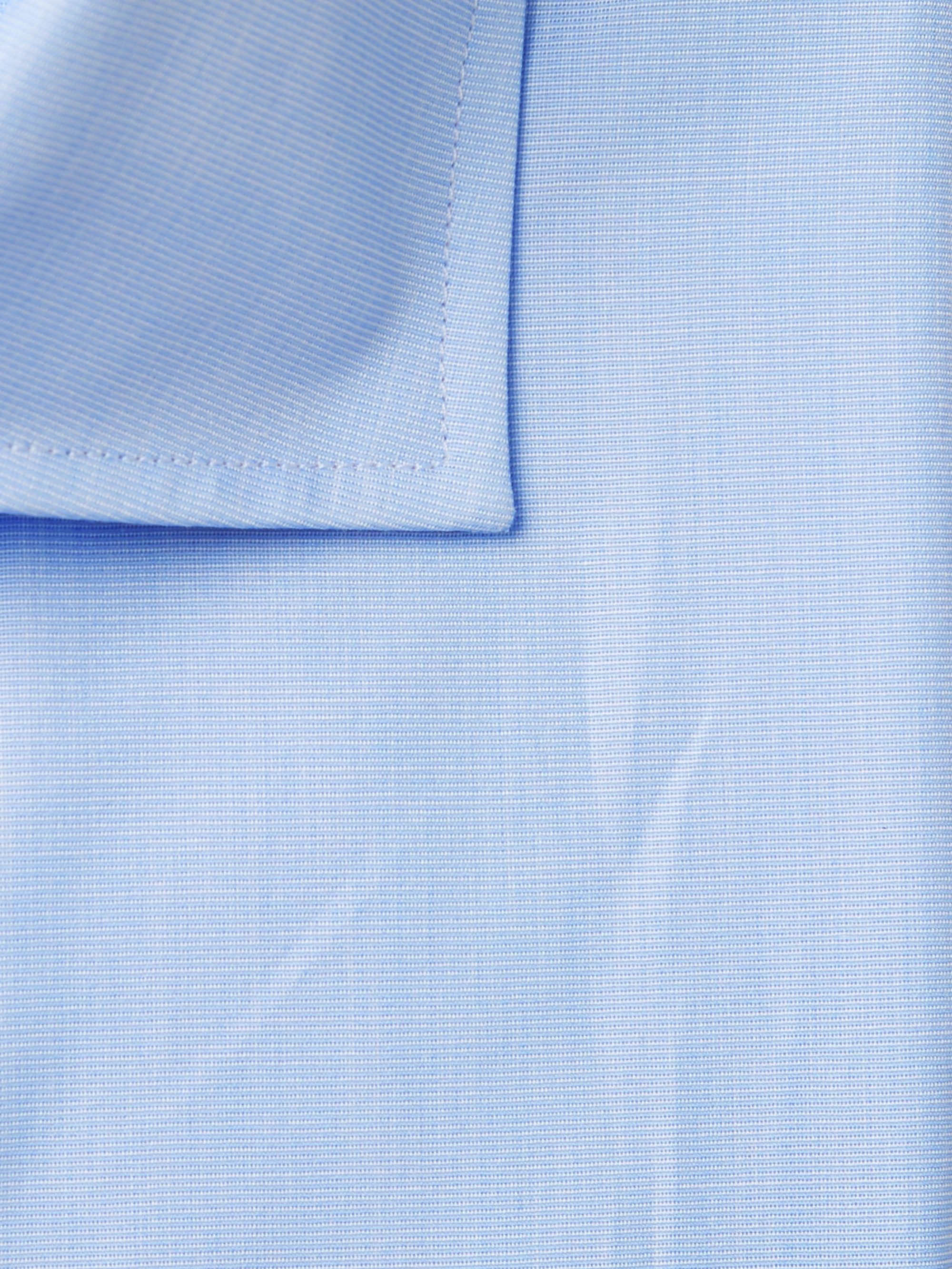 Drake's Light-Blue Slim-Fit Cutaway-Collar End-on-End Cotton Shirt