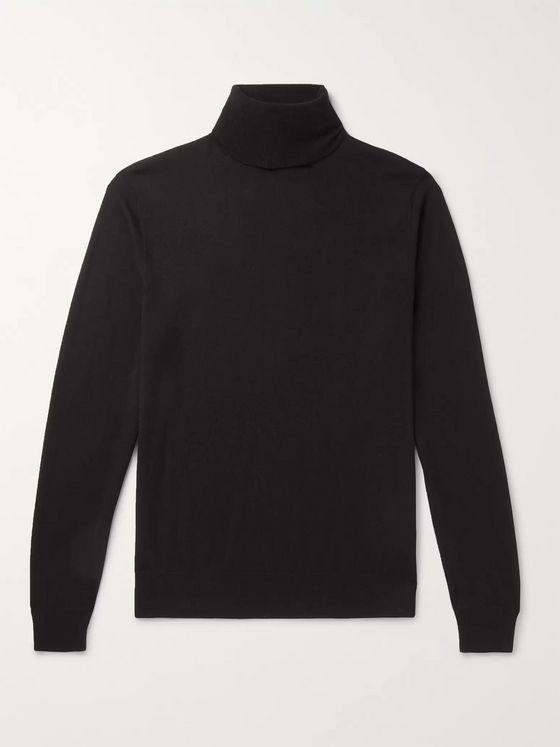 Ralph Lauren Purple Label Cashmere Rollneck Sweater