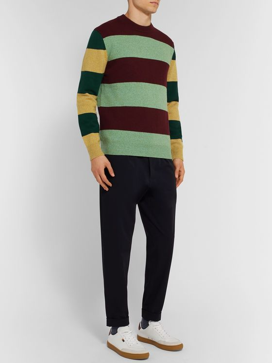 Paul Smith Striped Wool Sweater