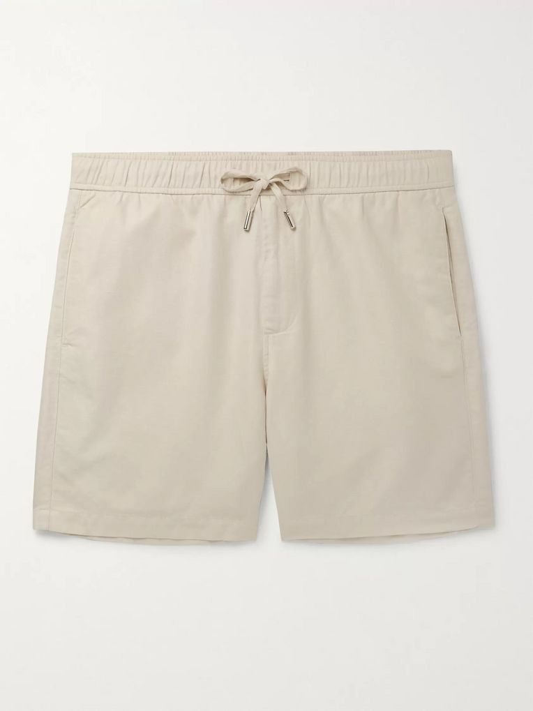 Mr P. Linen Drawstring Shorts