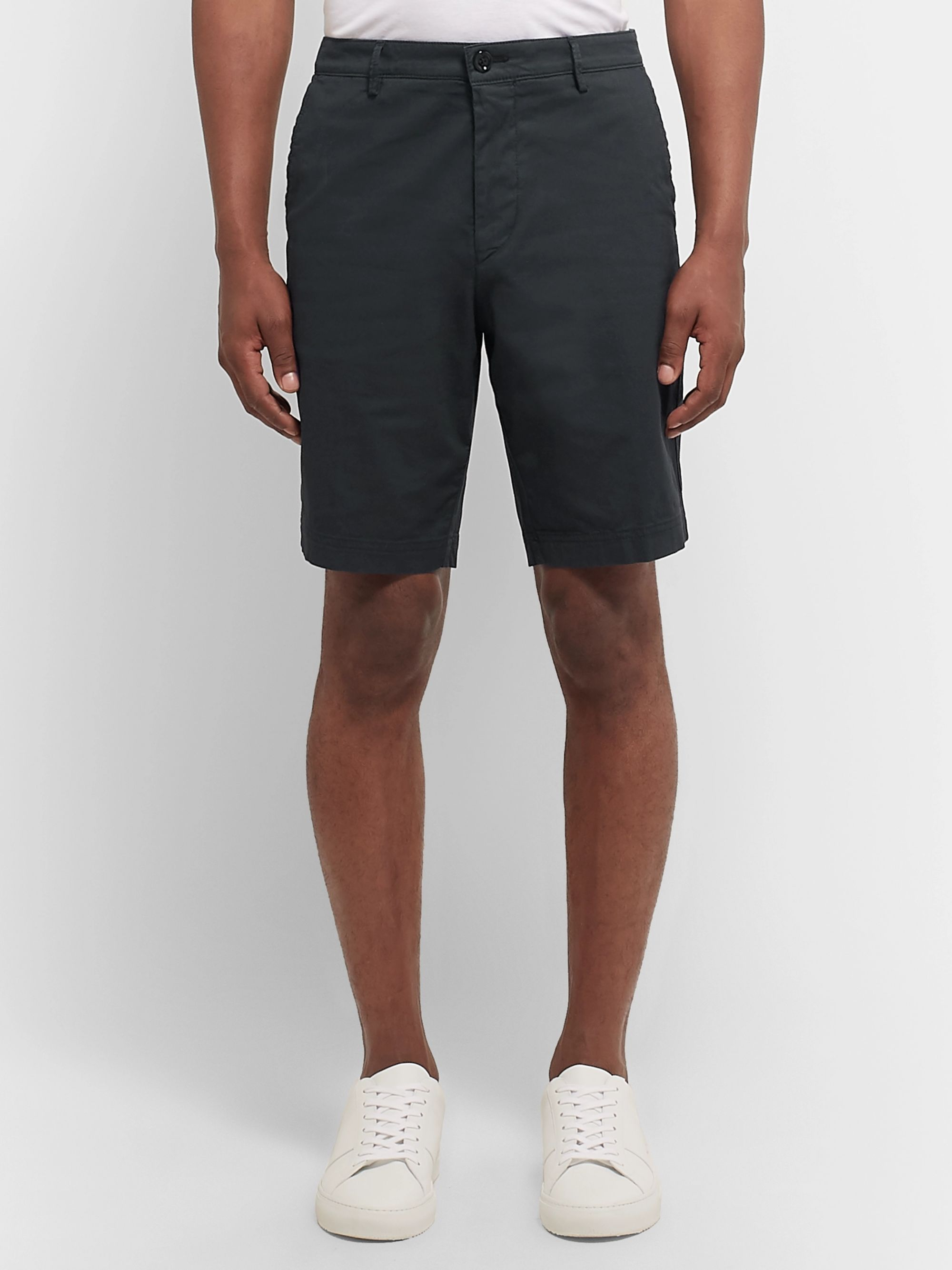 Hugo Boss Slim-Fit Stretch-Cotton Shorts
