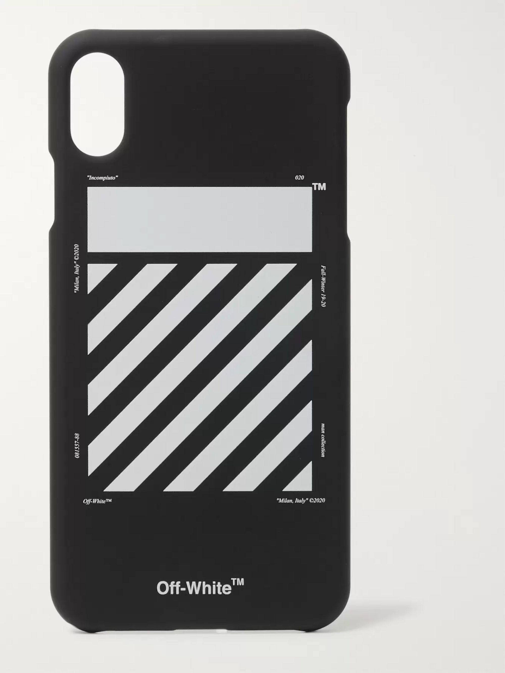 off white iphone xs max case