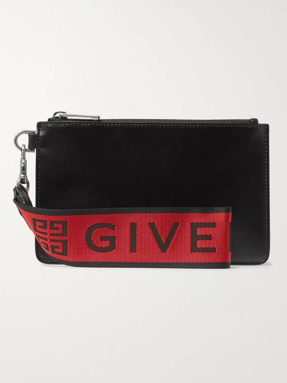 Givenchy Coated-Canvas Pouch