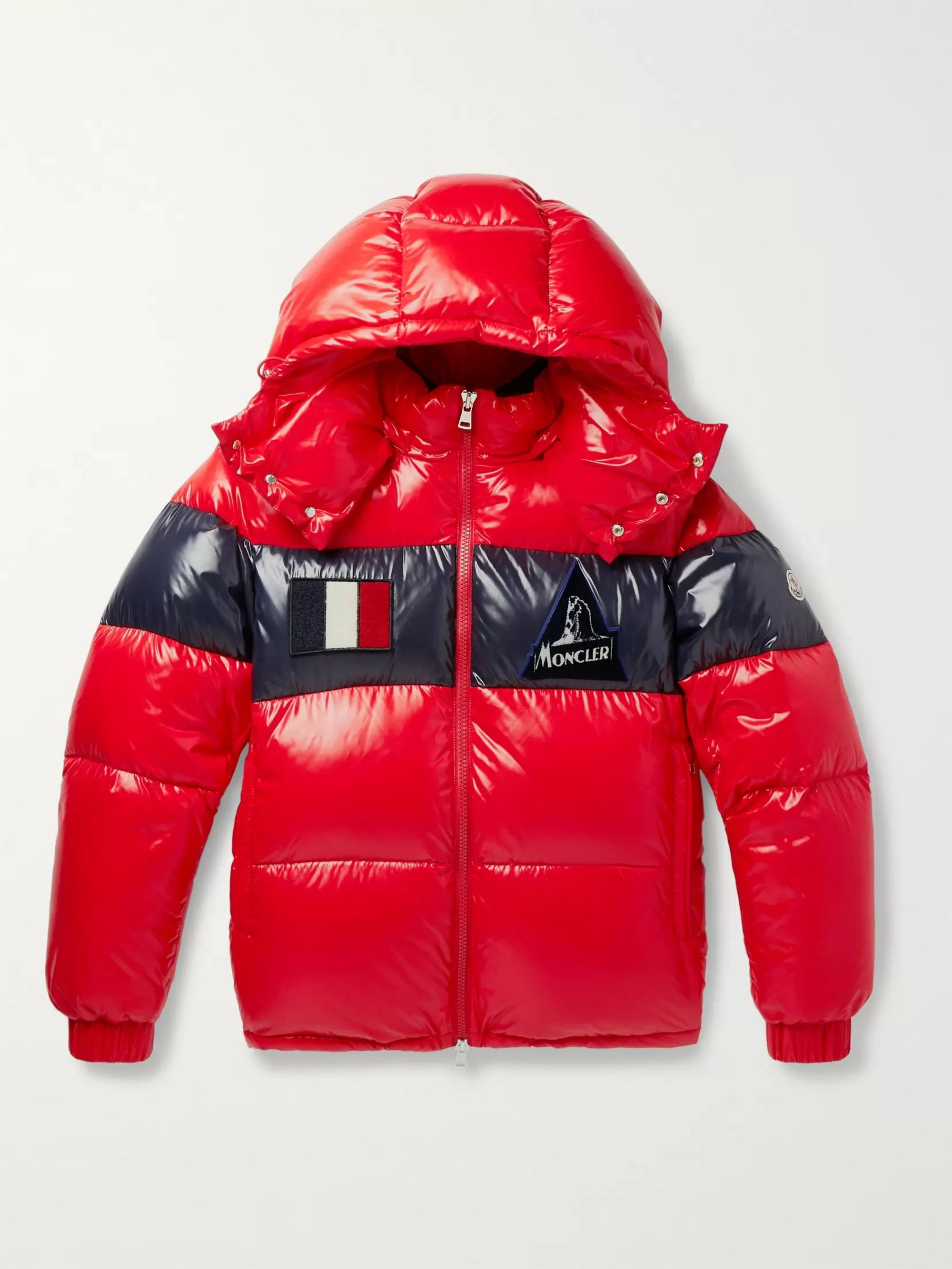 slim-fit-striped-quilted-glossed-nylon-hooded-down-jacket by moncler