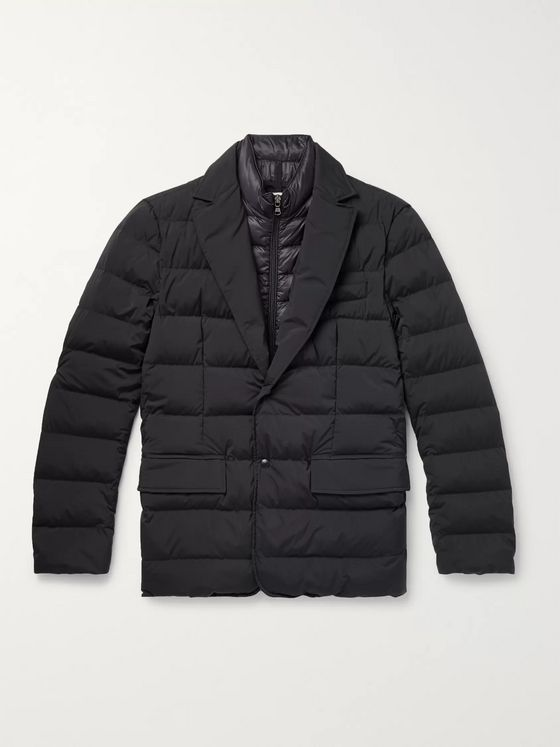 Moncler Slim-Fit Quilted Stretch-Shell Down Jacket