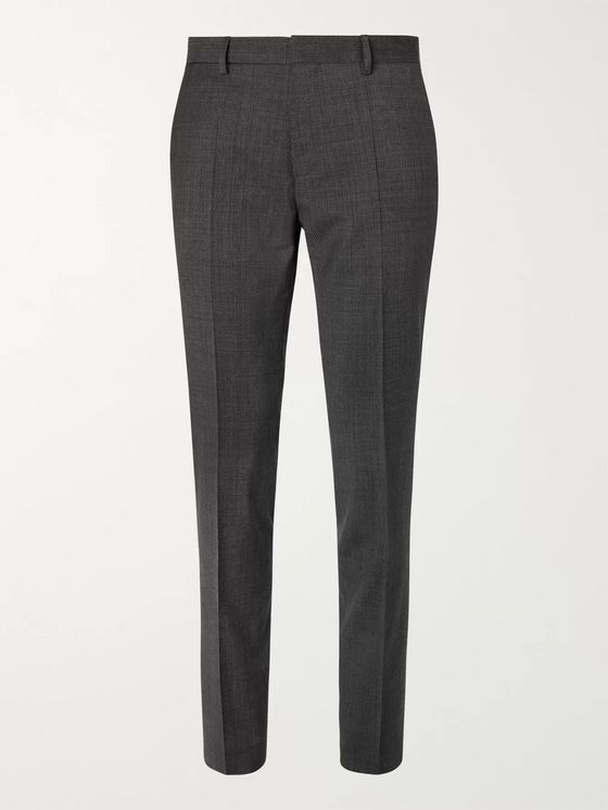 HUGO BOSS Black Genesis Slim-Fit Virgin Wool Trousers
