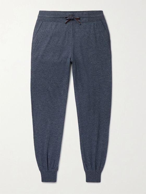 Loro Piana Tapered Cashmere and Silk-Blend Sweatpants