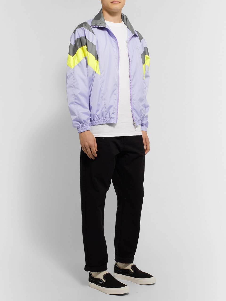 Flagstuff Logo-Embroidered Tech-Shell Track Jacket