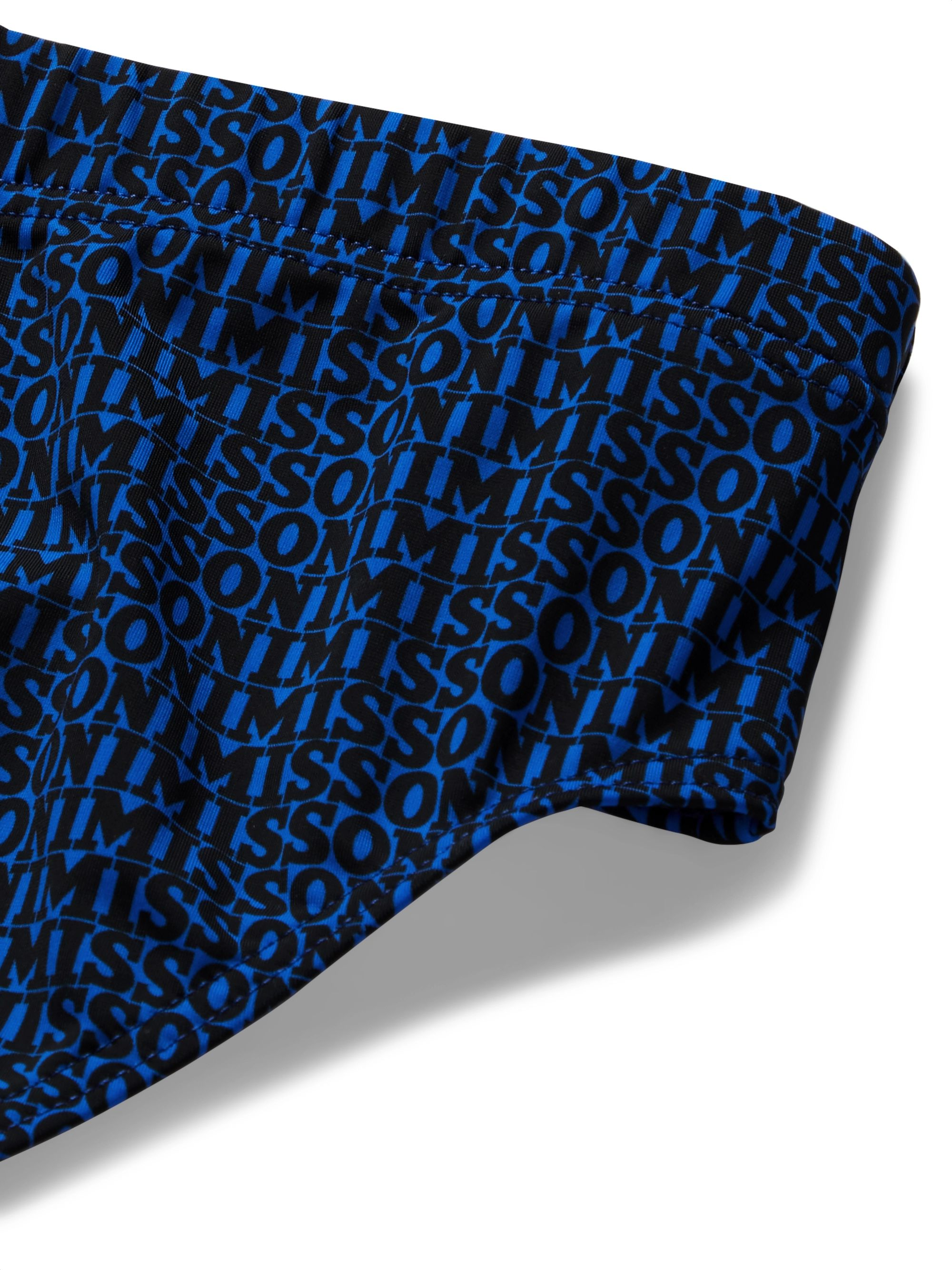 Missoni Logo-Print Swim Briefs