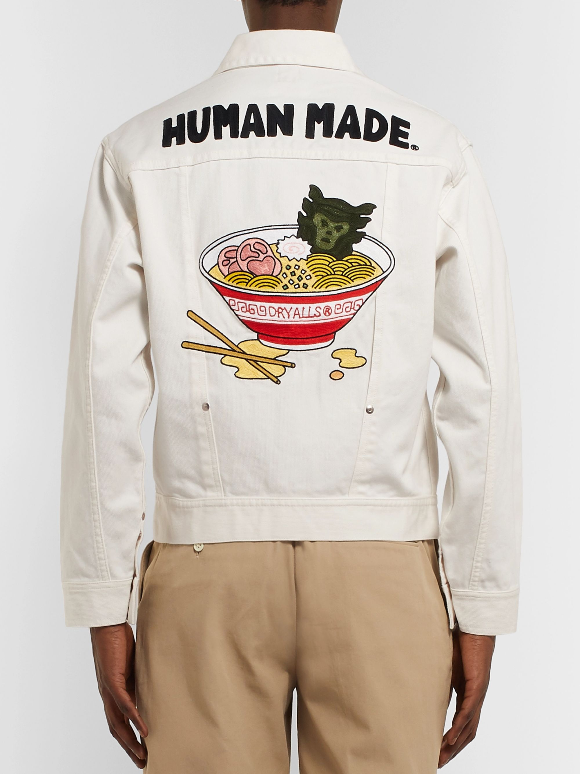 Human Made Embroidered Denim Jacket