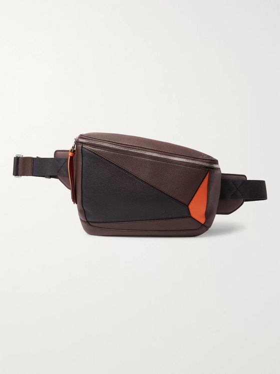 Loewe Puzzle Full-Grain Leather Belt Bag