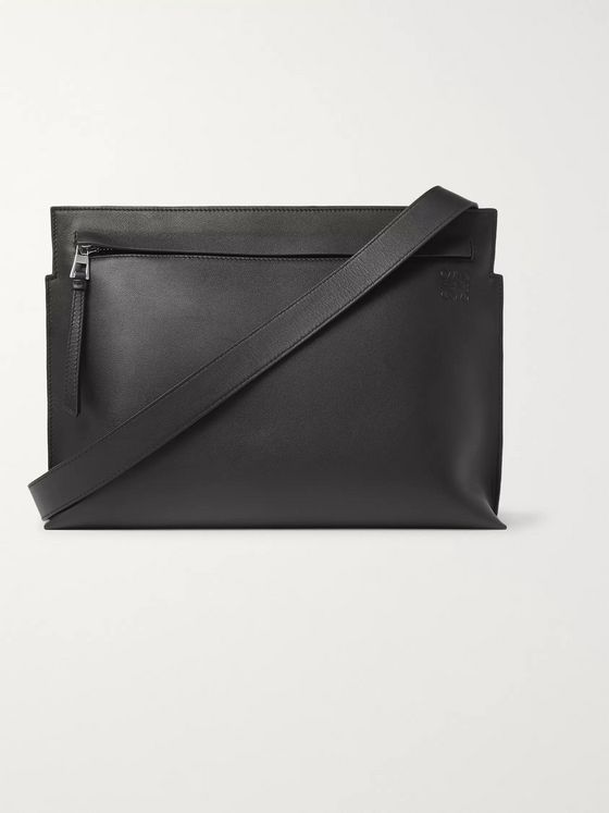 Loewe Leather Messenger Bag