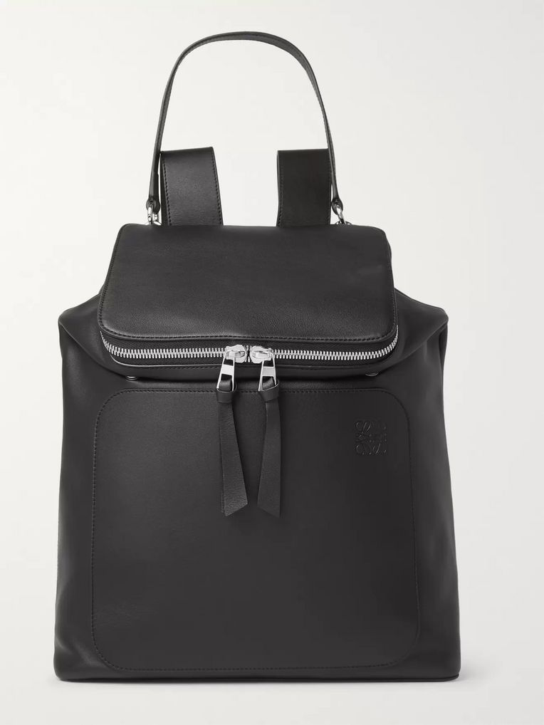 Loewe Goya Leather Backpack