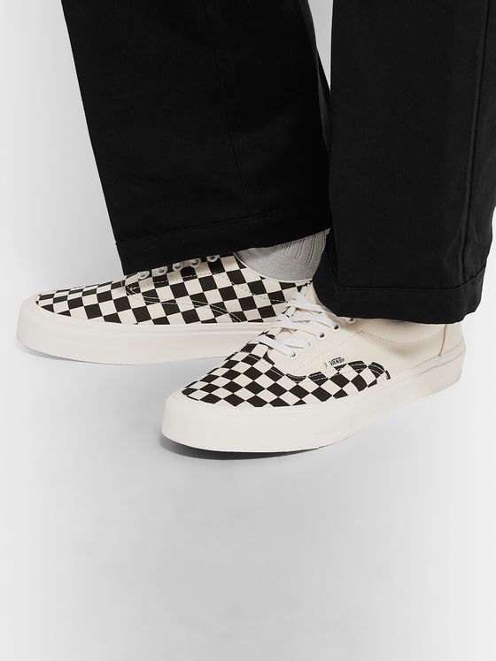 Vans Era Checkerboard Canvas Sneakers