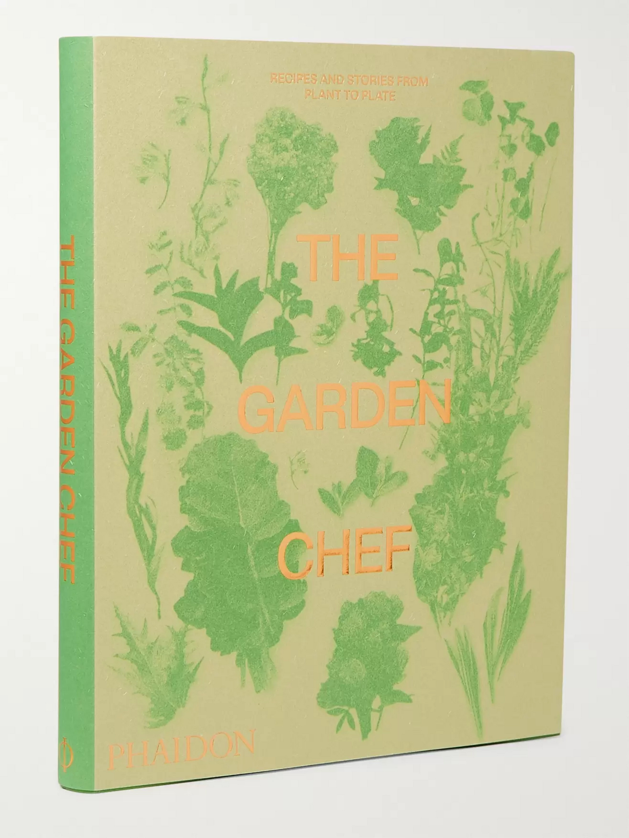 Phaidon The Garden Chef: Recipes and Stories from Plant to Plate Paperback Book