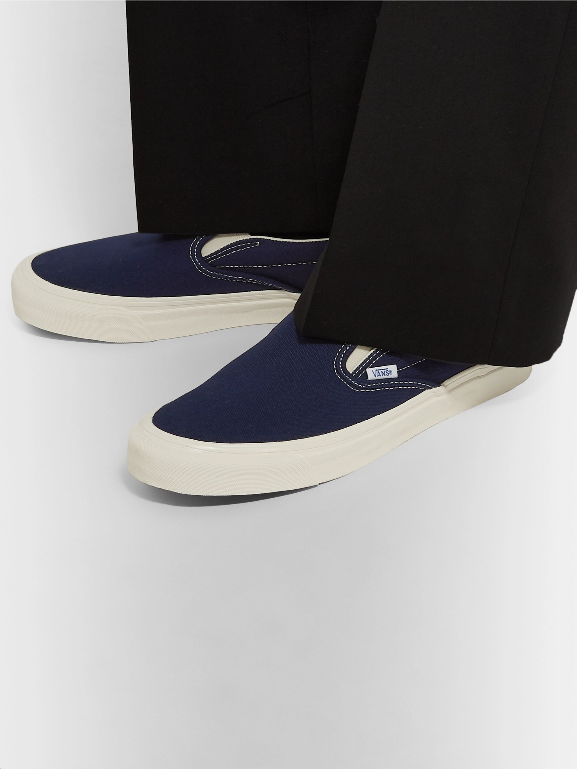 OG Classic LX Canvas Slip On Sneakers