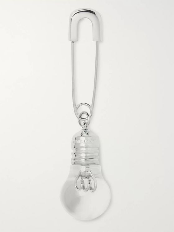 AMBUSH® Light Bulb Sterling Silver Earring
