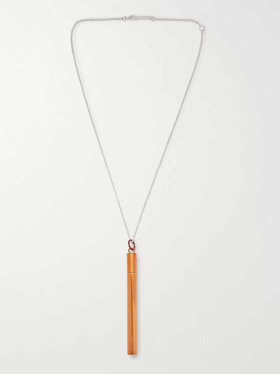 AMBUSH® Bronze and Sterling Silver Necklace