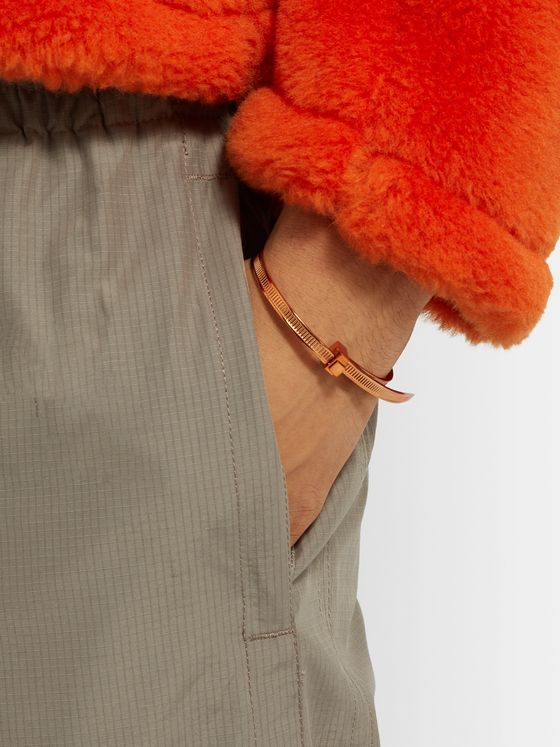 AMBUSH® Zip Tie Bronze-Plated Bracelet