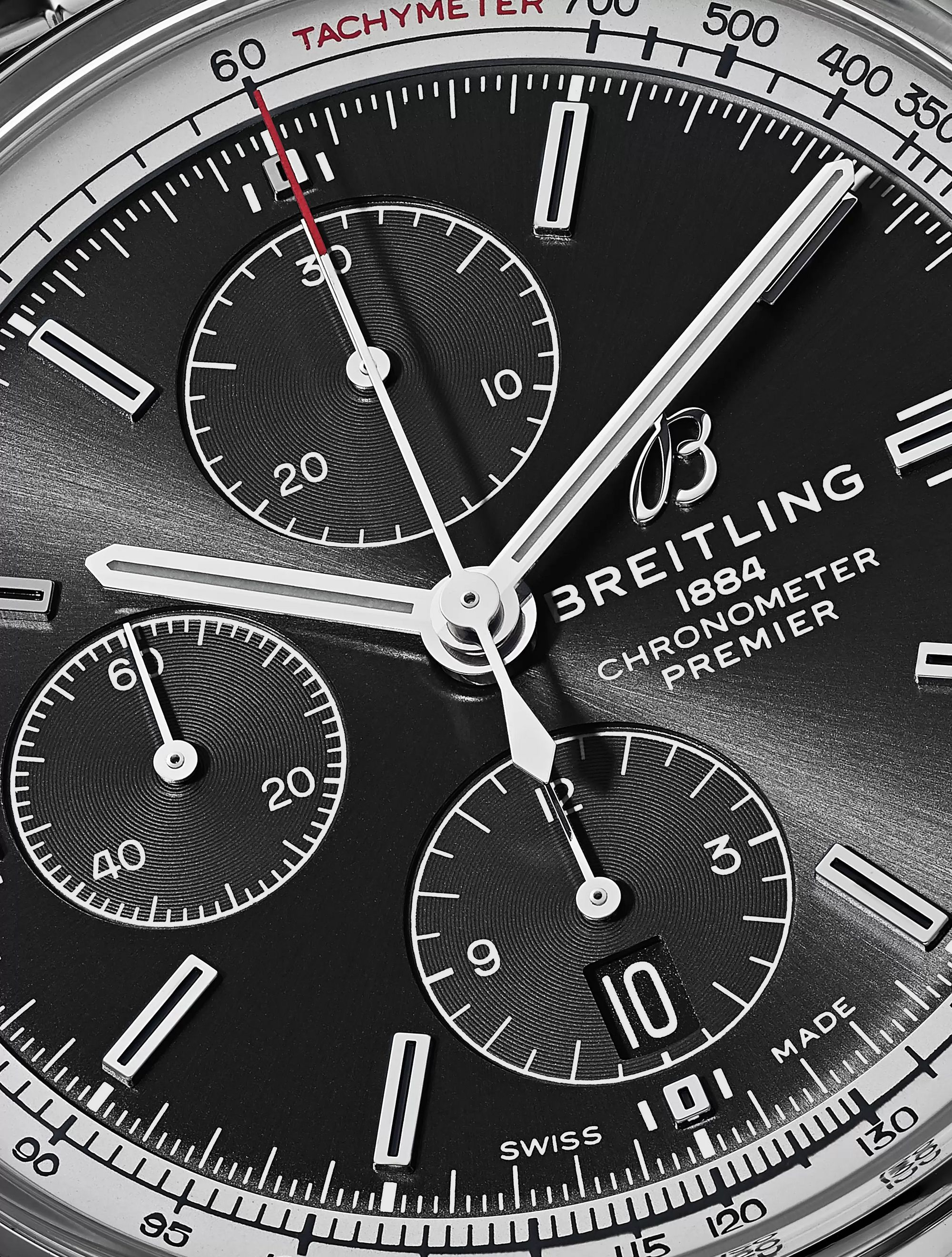 Breitling Premier Chronograph 42mm Stainless Steel Watch, Ref. No. A13315351B1A1