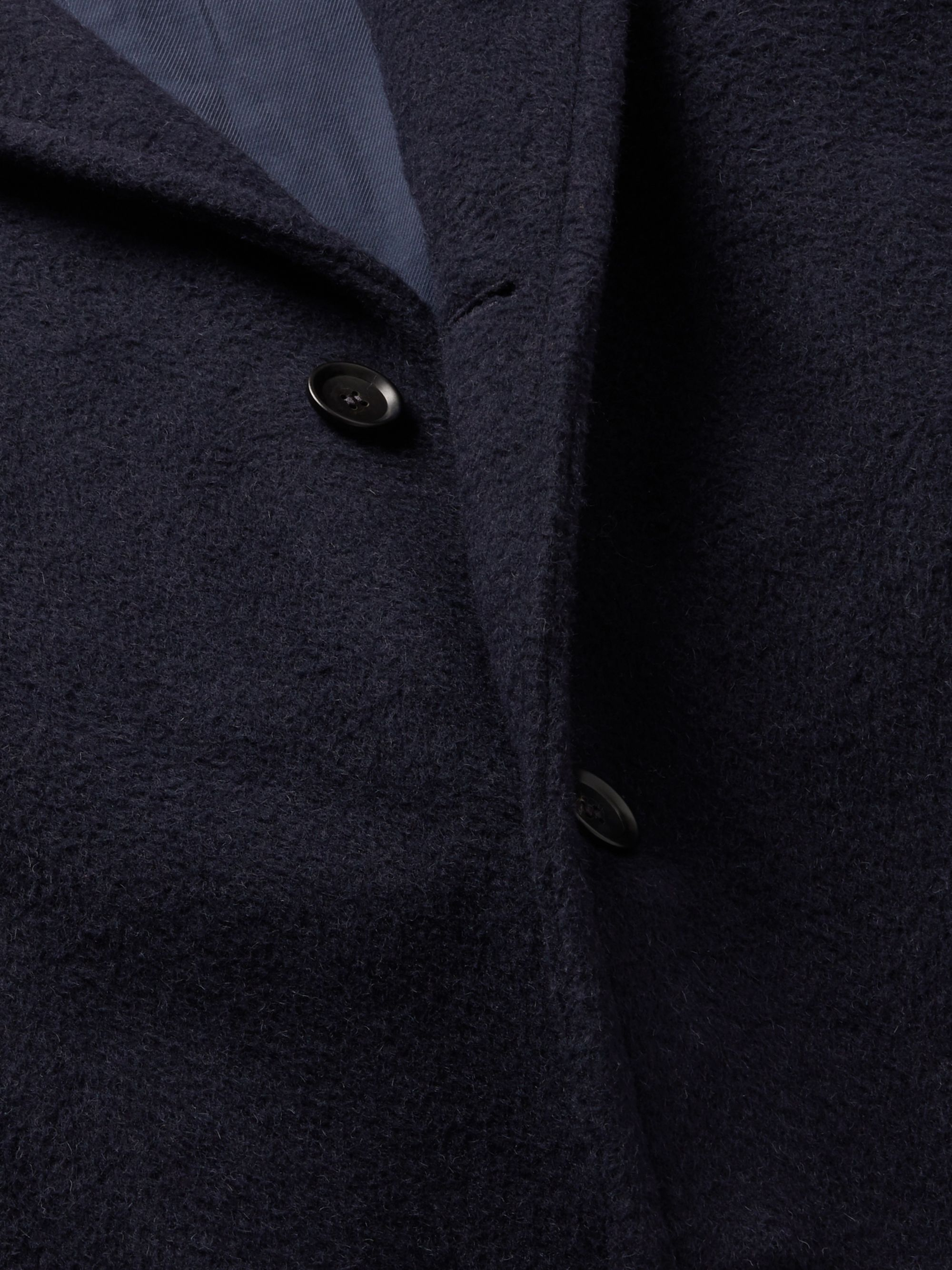 Mr P. Oversized Belted Alpaca-Blend Overcoat