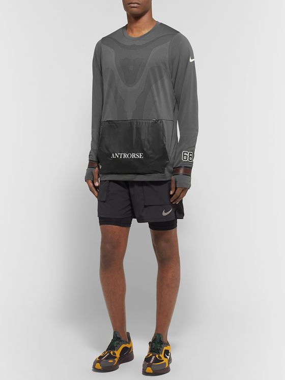 Nike x Undercover + GYAKUSOU Transform Convertible Dri-FIT Mesh and Ripstop Running Jacket