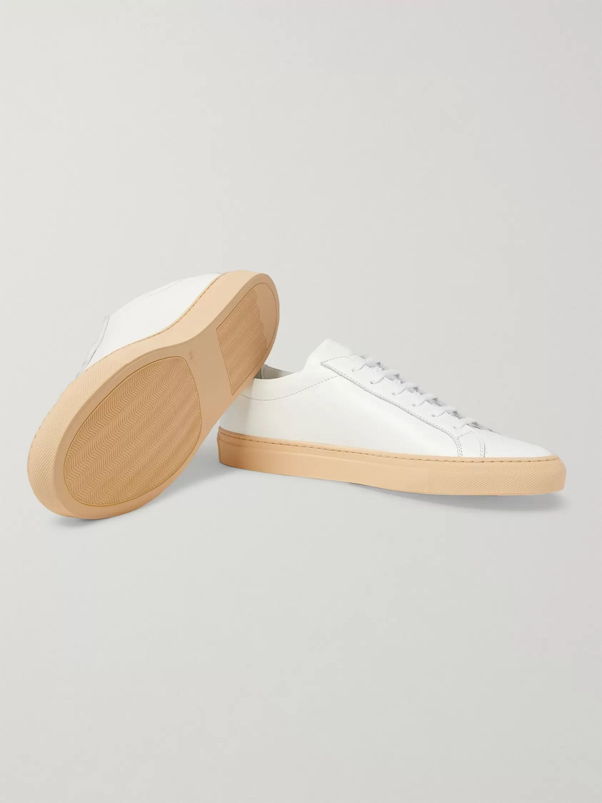 Common Projects Achilles Vintage Leather Sneakers