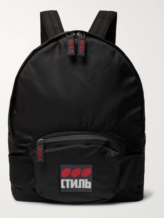 Heron Preston Ripstop Backpack
