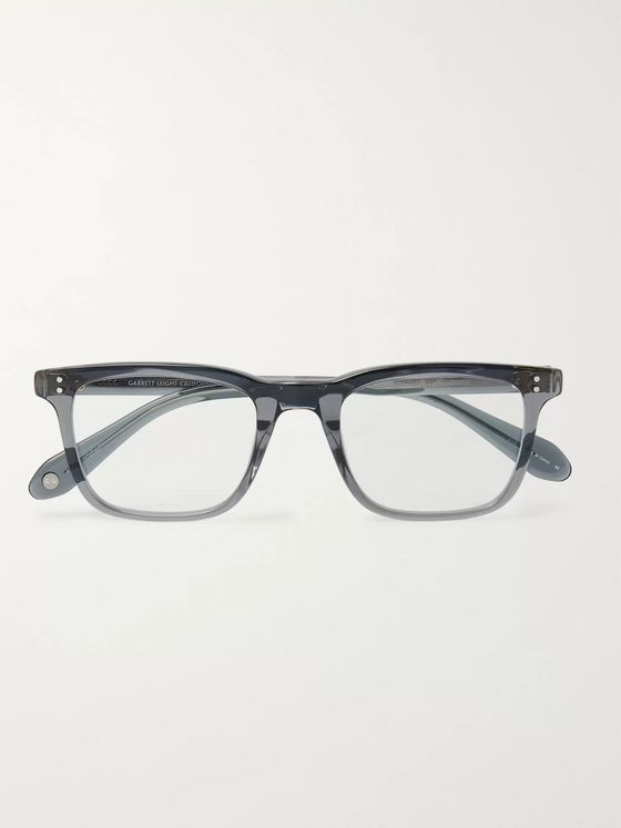 Garrett Leight California Optical Bernard 49 D-Frame Acetate Optical Glasses