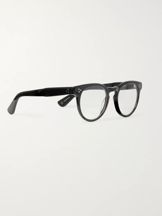 Garrett Leight California Optical Boccaccio 48 Round-Frame Acetate Optical Glasses