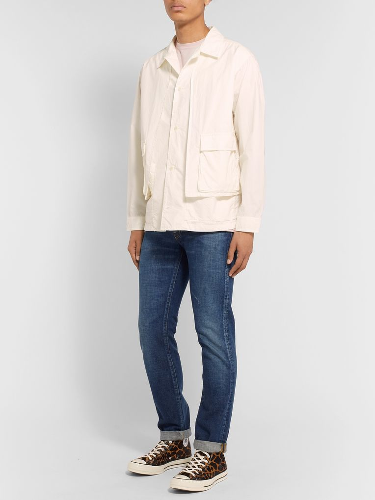 Remi Relief Layered Cotton Overshirt