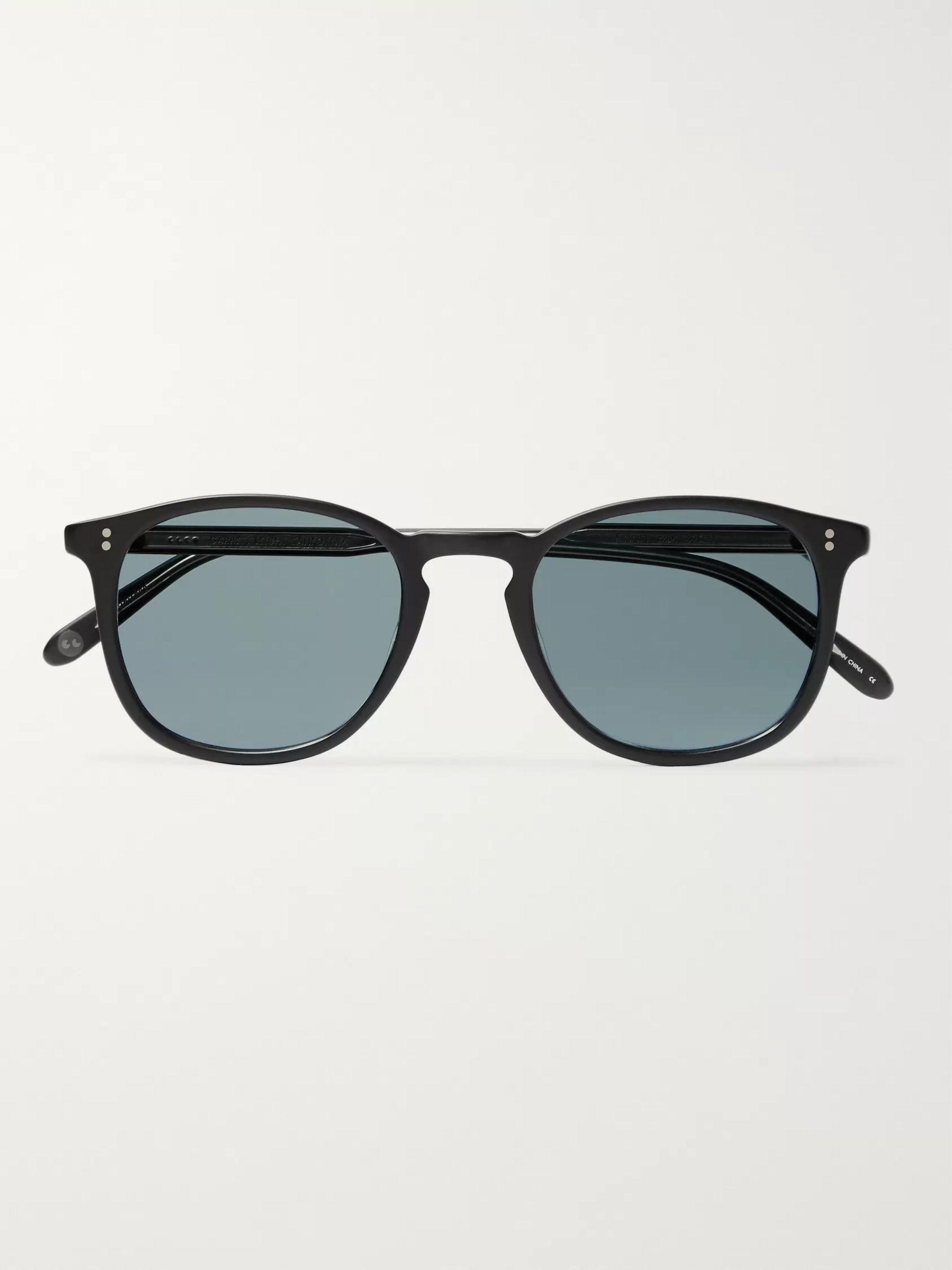 Kinney 49 D Frame Matte Acetate Sunglasses by Garrett Leight California Optical