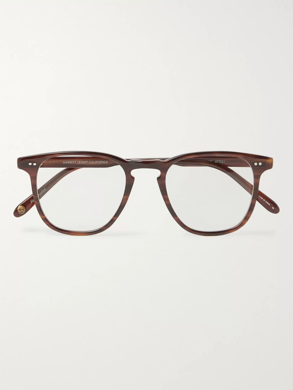 494c3b1c1ec Garrett Leight California Optical Brooks 47 D-Frame Acetate Optical Glasses